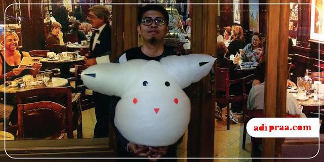 Aromanis bentuk pikachu | adipraa.com