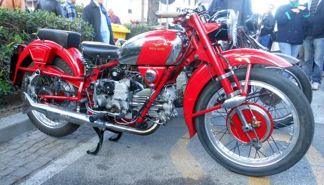 Moto Guzzi Falcone Front look