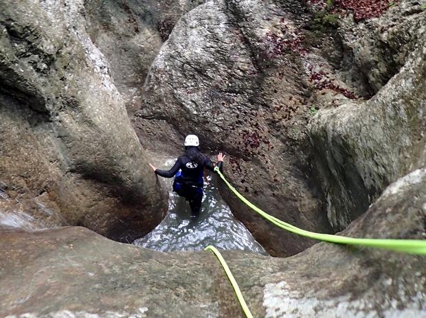 Bohinj, canyoning
