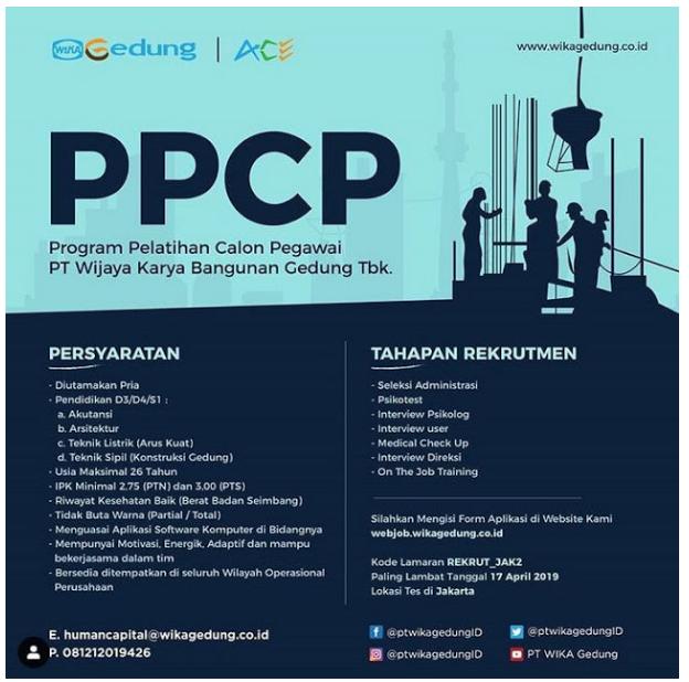 PPCP PT Wijaya Karya Bangunan Gedung Tbk