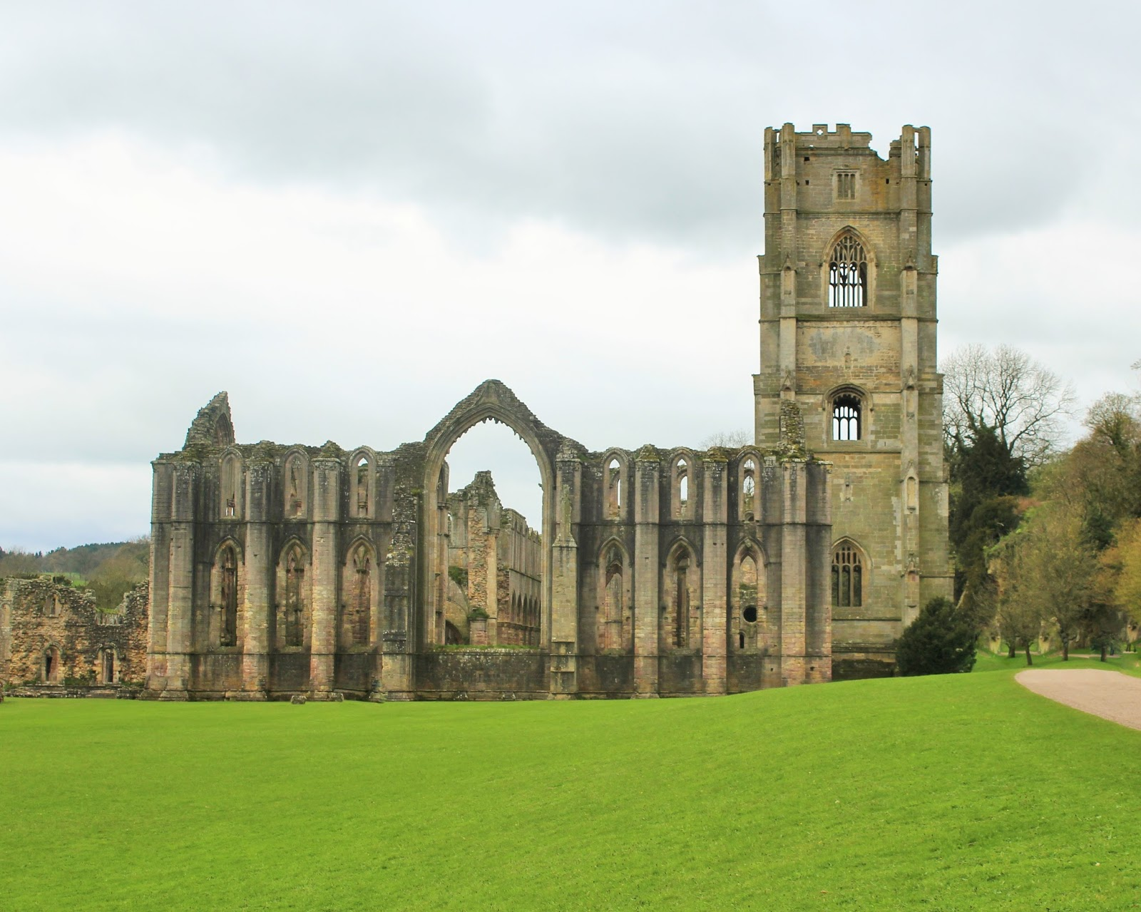 A Trip to North Yorkshire 50 - Fountains Abbey