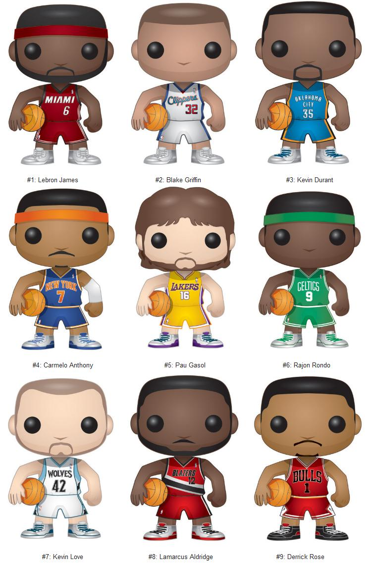 The Blot Says Nba Pop Series 1 Concept Artwork By Funko