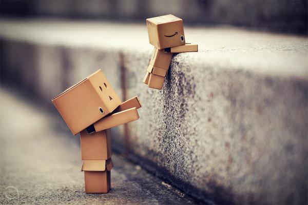 картонные человечки