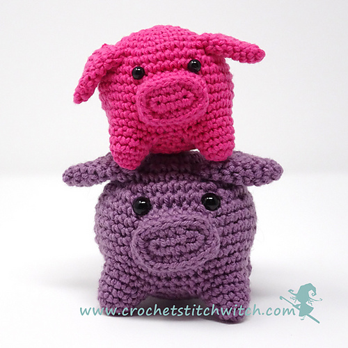 Amigurumi Freely: Piggy Pig