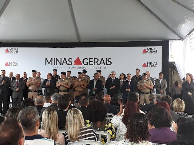 Inaugurada nova sede do 35º Batalhão da Policia Militar de Santa Luzia MG