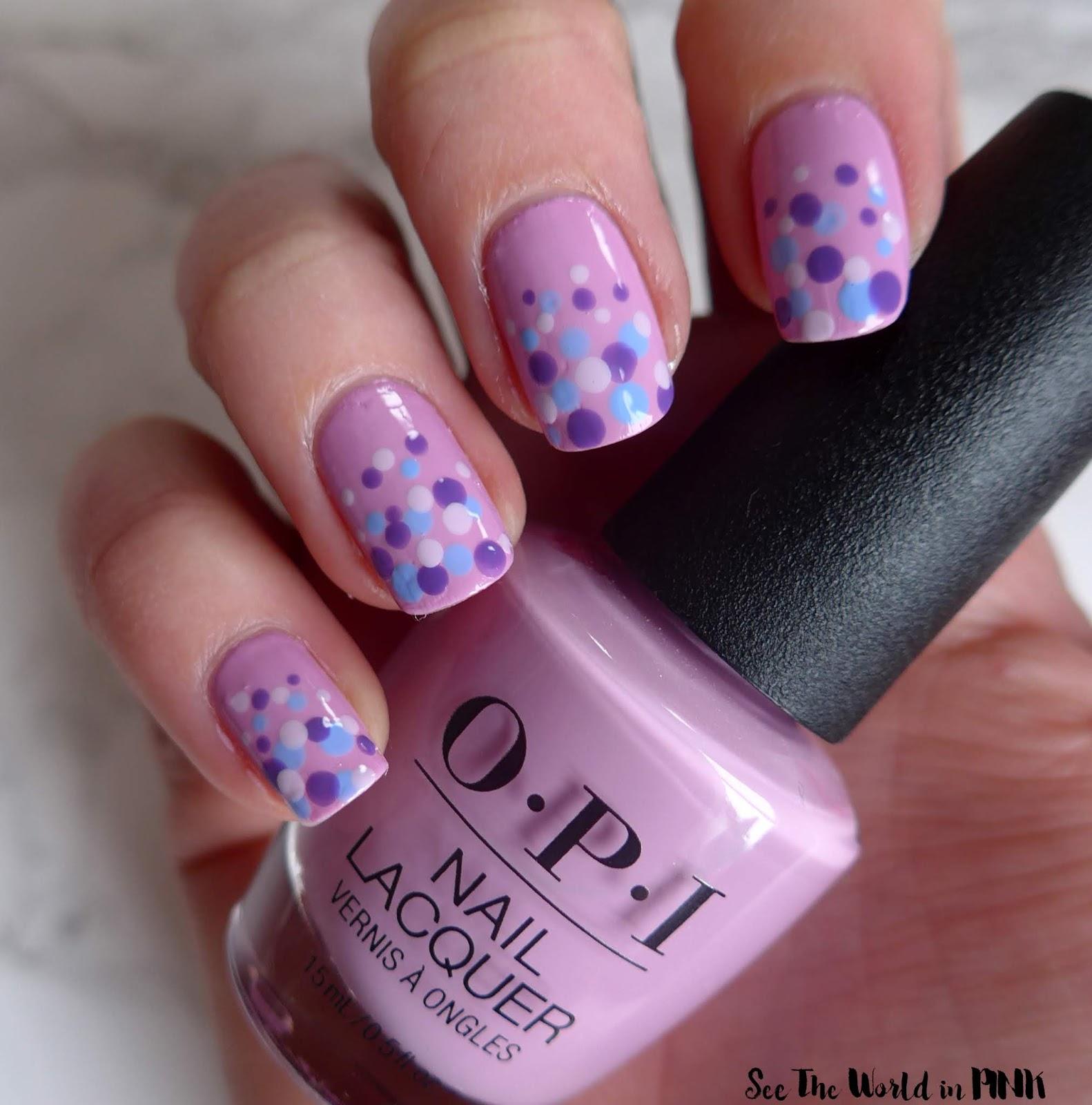 Manicure Monday - Easter Dotticure Nails