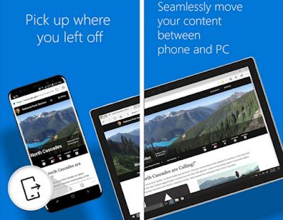 تحديث جديد لمتصفح إيدج Microsoft Edge على أندرويد