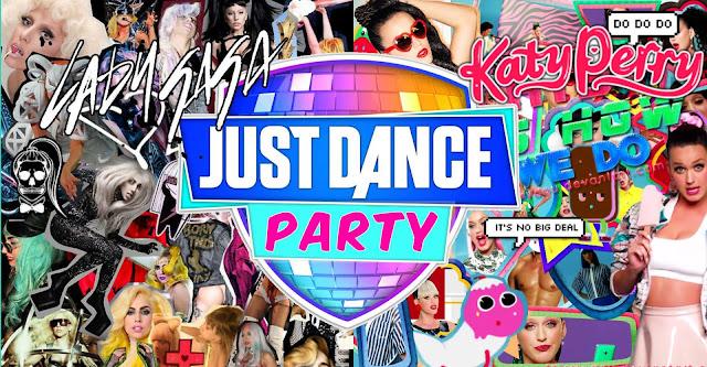Neste domingo acontecerá Just Dance Party - Katy ou Gaga!