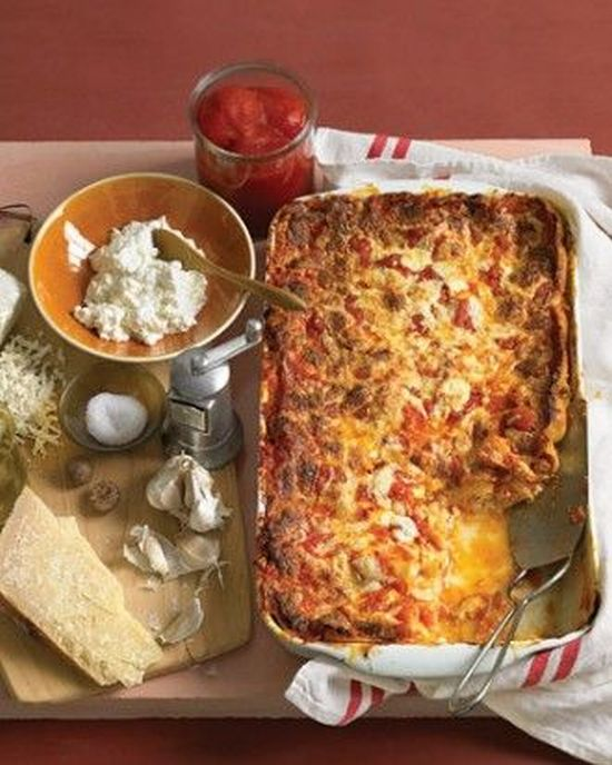 Classic Cheese Lasagna Recipe — Dishmaps