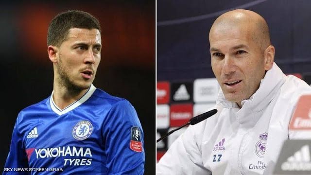 Hazard 'agrees five-year Real Madrid contract worth £270k-a-week' but transfer held up by Chelsea star's £98m pricetag