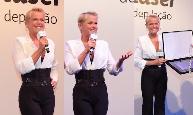 Xuxa comemora mais de 300 unidades de franquia Espaçolaser em Convenção