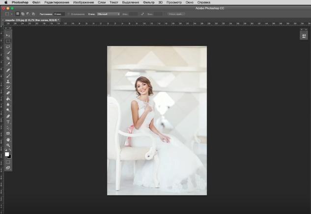 Быстрый способ усилить объём фотографии