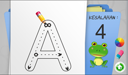 aplikasi android belajar menulis huruf dan angka
