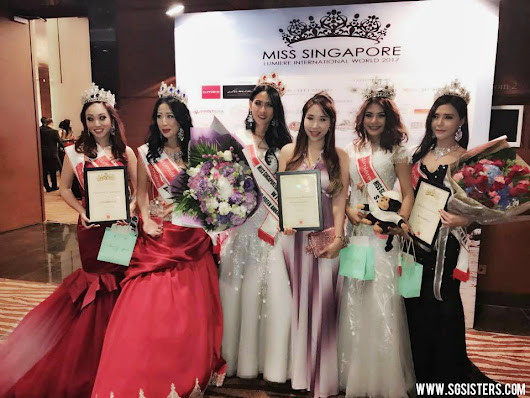 EVENTS - Sara Shantelle Lim was the Judge for Miss Singapore Lumiere 2017 at Singapore Island Country Club
