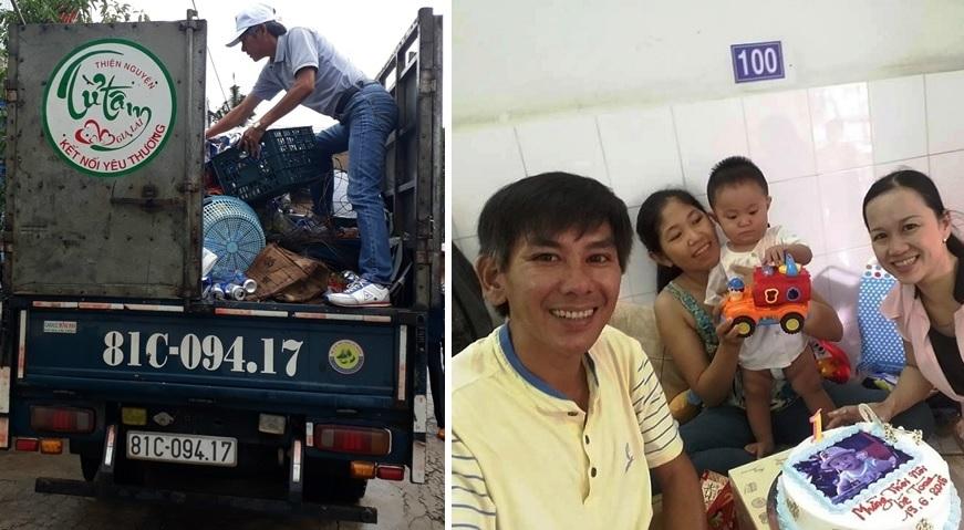 Gia Lai: Người đàn ông mê gom ve chai bán làm từ thiện
