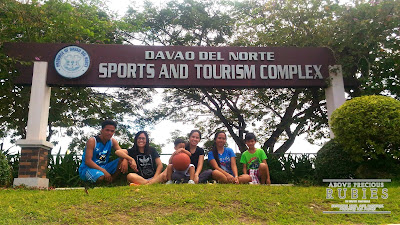Visited Davao del Norte Sports and Tourism Complex.