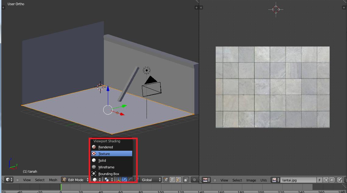 Cara Menambahkan Texture Pada Objek - Black Blender ...