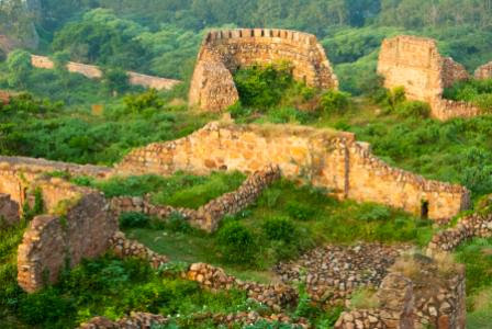 view of purana quila wallpapers and images of walls