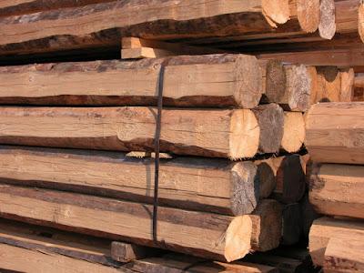 travi-in-legno-di-castagno-uso-fiume
