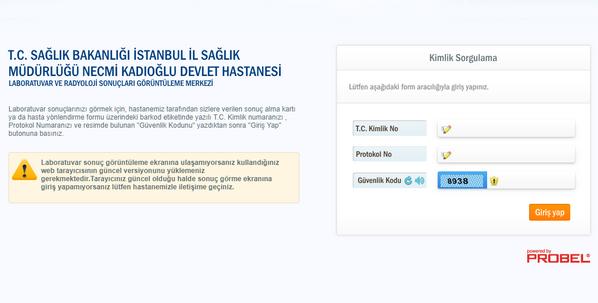 Esenyurt+Devlet+Hastanesi+Laboratuvar+Tahlil+sonucu öğrenme sayfası