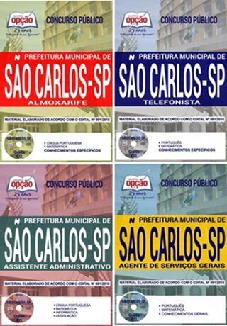 Apostila Concurso Prefeitura de São Carlos 2018