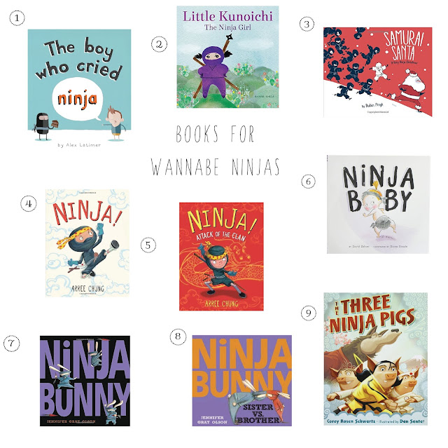 Not all ninja books are created equal, trust us. So we've rounded up 9 of our favorites.