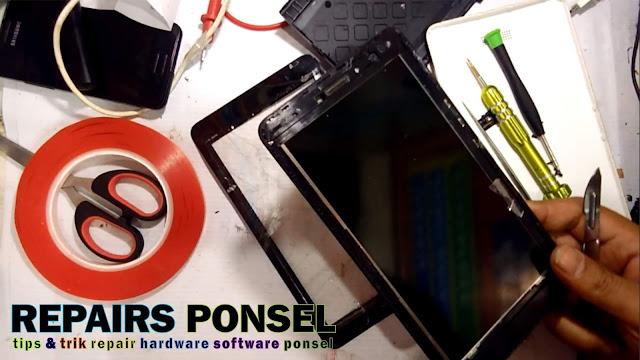 Cara Ganti Touchscreen Tablet Advan S7C dan S7C Sekolah