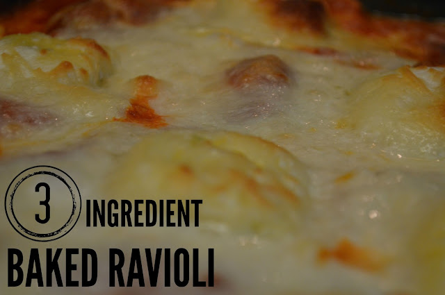 Easy Recipe for Baked Ravioli