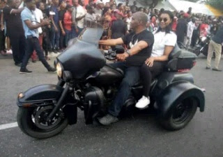 See How Bikers Arrived Stylishly For The 2016 Bikers Carnival In Calabar