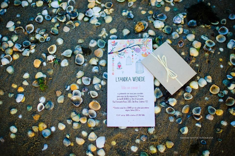 book externo - externas praia - convite - papelaria