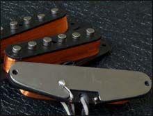 Baseplate en Pastillas para Stratocaster Single Coil