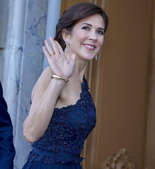 Crown Prince Frederik, Crown Princess Mary, Queen Anne-Marie of Greece, Princess Alexandra and, Princess Nathalie of Berleburg