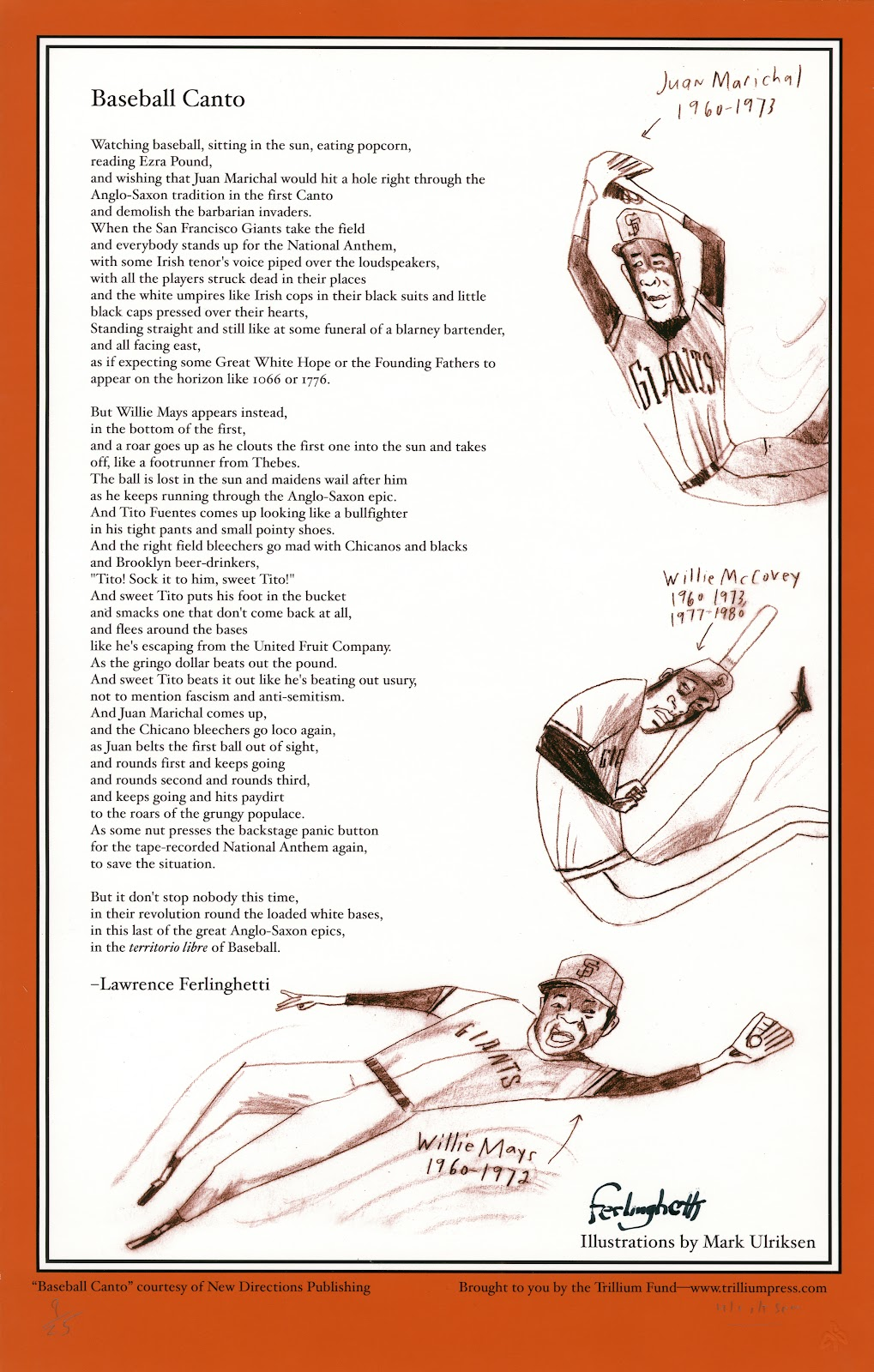 Baseball Concrete Poems