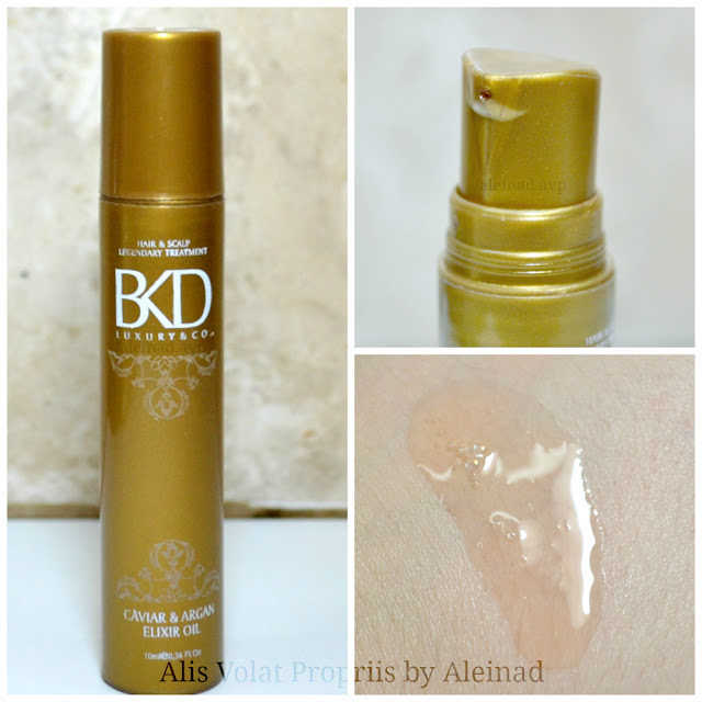 BKD caviar & argan elixir oil reseña review