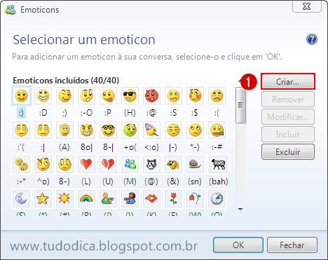 CLique botão criar