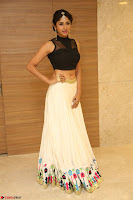Roshni Prakash in a Sleeveless Crop Top and Long Cream Ethnic Skirt 096.JPG