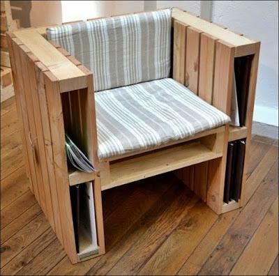 sofa feito de pallet