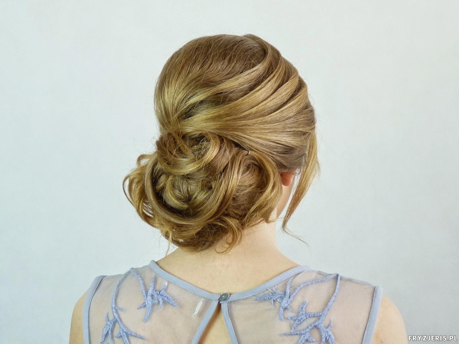 Fryzury Okazjonalne Upięcie Blog O Włosach Fryzjeris