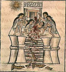 Incan sacrifice