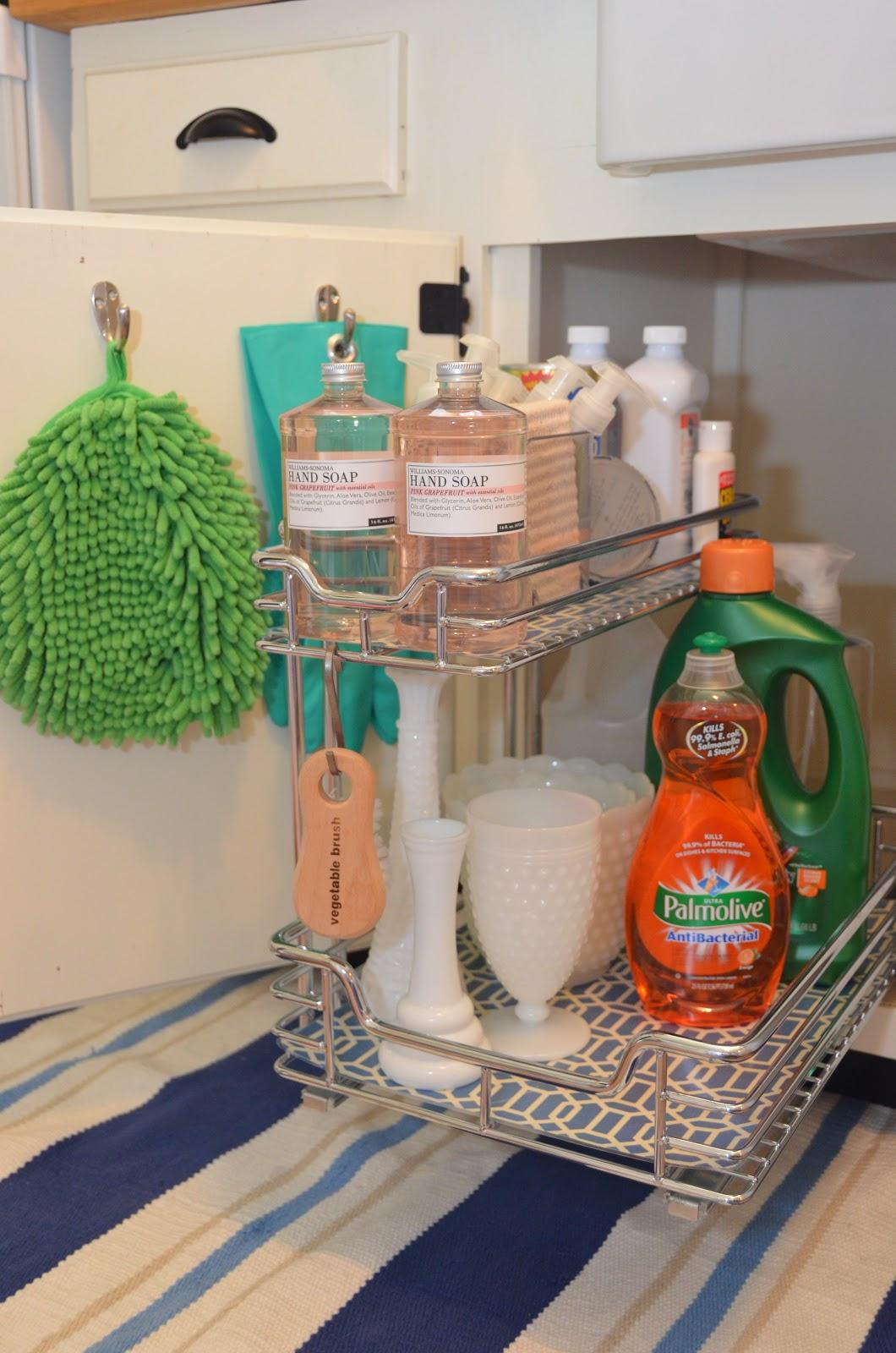 under kitchen sink storage ikea cupboards iron and twine