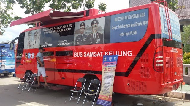 Jadwal Bus Samsat Keliling Batam Bulan April 2017