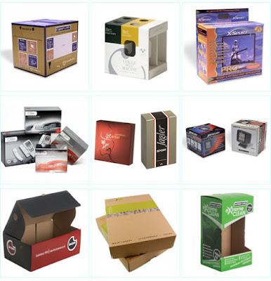 in hộp giấy đựng sản phẩm