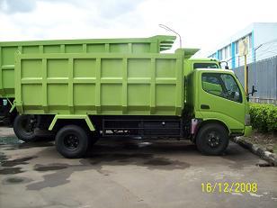 truk hino dutro dump 9 kubik surabaya