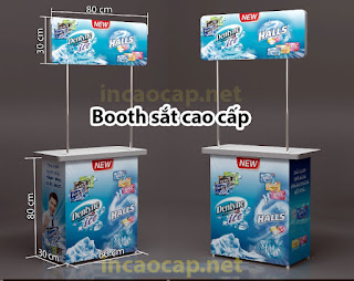 Booth sampling cao cấp
