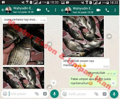 Umpan Serbuk Ikan Mas Top Seller