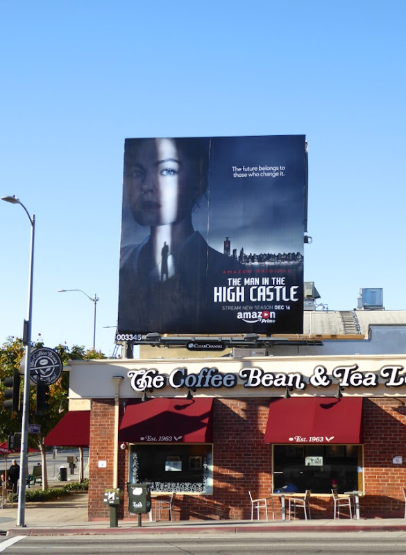 Man in High Castle season 2 billboard