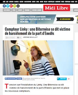 Cette Biterroise qui avait refusé le Linky par courrier est victime de harcèlement