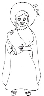 This is an image of Amazing st. peter coloring page