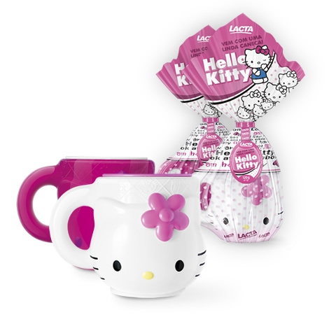 Ovo de Páscoa Lacta 2015 Hello Kitty