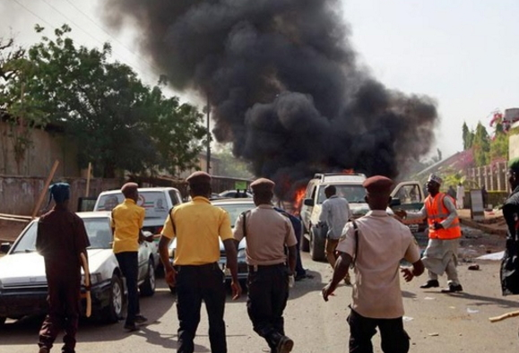 maiduguri suicide bombers 17 killed